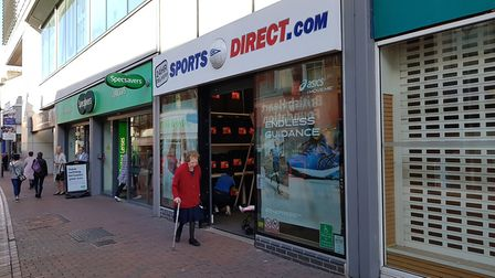 Sports Direct in Ipswich - one of Mike Ashley's other brands
