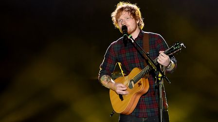 Ed Sheeran will return to Ipswich this summer with special guest. Picture: PA