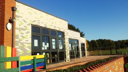 Whitehouse Community Primary School's extension from 2017. Picture: IPSWICH SOCIETY