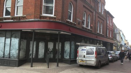 The news that Pret a Manger is not coming to Ipswich was a big blow to the town centre. Picture: ARC