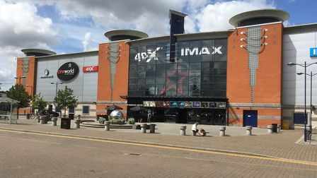 Most Ipswich leisure facilities like cinemas and theatres are within the town centre. Picture: PAUL