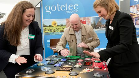 Anglia Business Exhibition 16/05/18 Copdock Hotel Picture: KEITH MINDHAM