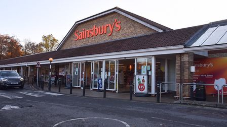 Sainsbury's have had some of their products recalled. Sonya Duncan Copyright: Archant 2018