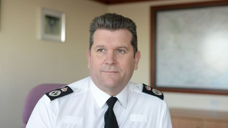 Gareth Wilson, Chief Constable of Suffolk Constabulary Picture: SARAH LUCY BROWN