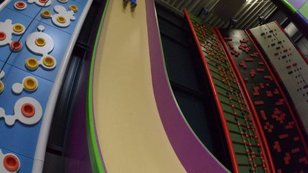 The Vertical Drop slide, which is due to be built at the Ipswich centre. Picture: ENTRE-PRISES/GAVIN