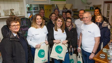 SimpleClick launched its DoGood Networking with an event in Ipswich on January 24, 2010 Picture: RO