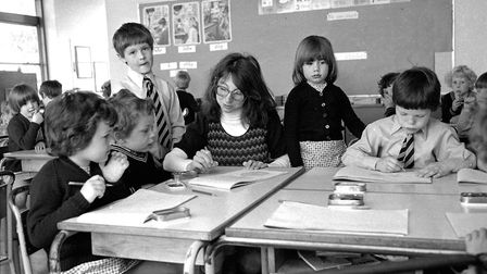 Do you recognise anybody in these photographs taken at St Matthews School, Ipswich, in May 1977. Pic
