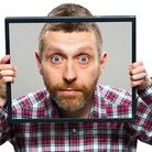 Dave Gorman brought his new tour, With Great Powerpoint Comes Great Responsibilitypoint, to the Ipsw