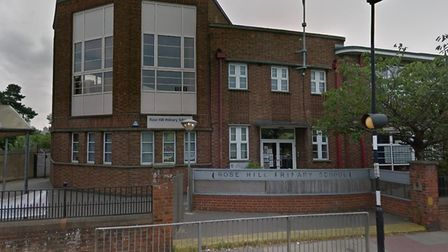 Rose Hill Primary school has warned parents about safegaurding Picture: GOOGLE MAPS