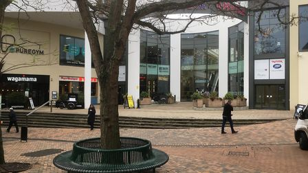 The Buttermarket has been transformed over recent years with a number of new restaurants. Picture: P