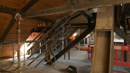 Work is now underway at The Maltings Picture: SARAH LUCY BROWN