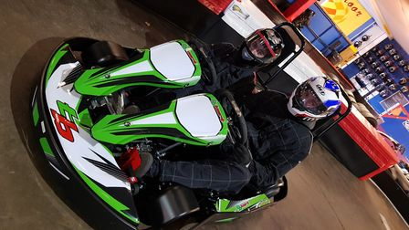 Anglia Indoor Karting's latest addition, so those with disabilities can go karting too. Picture: Ang