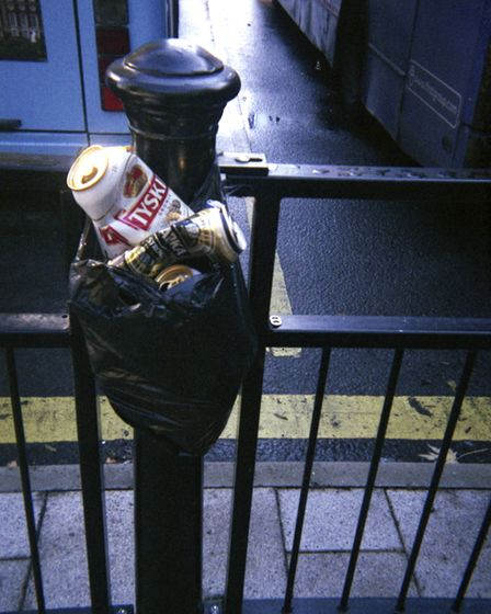 Photograph by formerly homeless artist 'N' in the Life on the Streets Exhibition Picture: LIFE ON TH