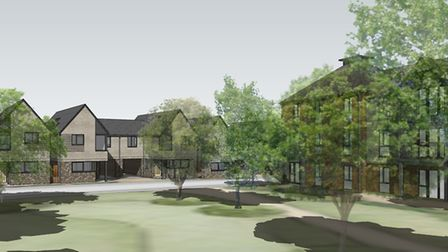 CGI of Laureate Fields, Ferry Road, Old Felixstowe - a development by the Generator Group Picture: