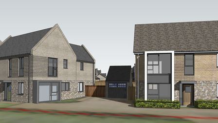 Some of the new homes at the development, off Ferry Road, will offer sea views Picture: THE GENERA