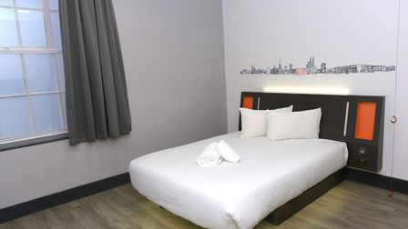 The easyHotel also has rooms that are suitable for wheelchair access Picture: SARAH LUCY BROWN