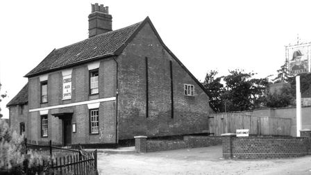 The Admirals Head at Little Bealings in 1950. Picture David Kindred's archive.