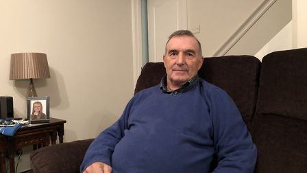 Mr Lambert's home in Sandringham Close was burgled on Friday, January 18, while he and his wife were