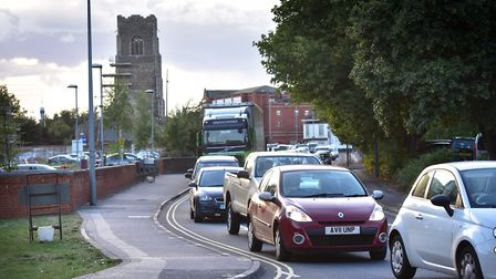 Could a northern bypass solve Ipswich's gridlock worries? Picture: SARAH LUCY BROWN