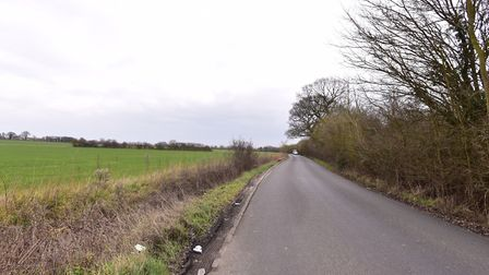 Lower Road, Westerfield, was among the possible locations for a new road to the north of Ipswich. PI