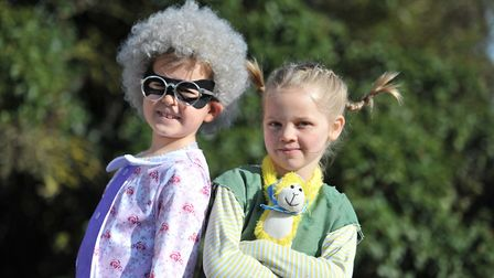 Children from Sir Robert Hitcham's Primary School got into character to celebrate a late World Book