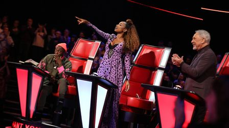 Jennifer Hudson chose to steal Connie Lamb on The Voice UK Picture: ITV