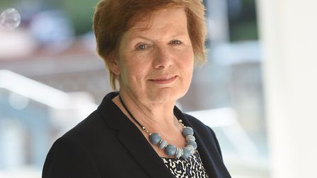 Suffolk County Council's cabinet member for highways, transport and rural affairs, Mary Evans, says