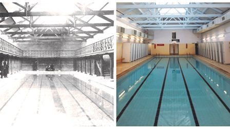 Fore Street Pool in Ipswich celebrates 125 years Picture: IPSWICH BOROUGH COUNCIL