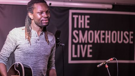 Zimbabwean musician Nqobile Khoza performed as part of the global musicians recording session for Ip