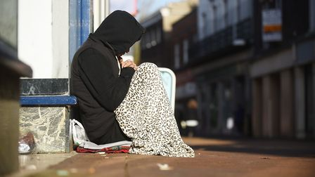 Julia Hancock, from Ipswich Winter Night Shelter, says people should give the homelessness charities