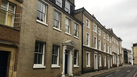 The former Birketts offices in Museum Street are set to be converted into flats. Picture: PAUL GEATE