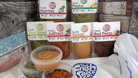 Fresh Sauce Co products Picture: VICTORIA MONAGHAN