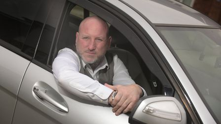 Darren Summers is battling Babergh District Council to get a taxi driver's licence Picture: SARAH L