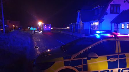 The road was closed for more than three hours, reopening just after 8pm Picture: ADAM HOWLETT