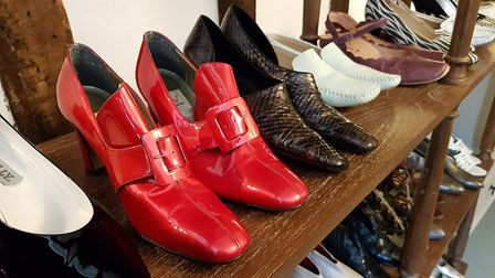 A variety of clothes, handbags and shoes as well as accessories are on sale from Monday. Picture: