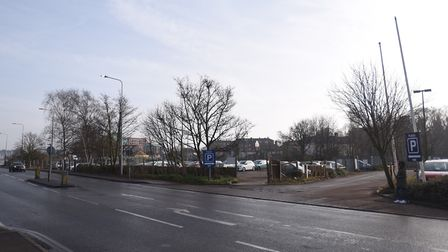 A new planning application has been submitted to transform Grafton Way in Ipswich. Picture: GREGG BR