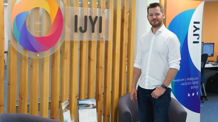 Chris Pon, Co-founder and chief executive of IJYI Picture: JOHN NICHOLSON