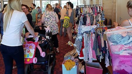 More than 300 people attended the last event Picture: MARKET FOR MUMS