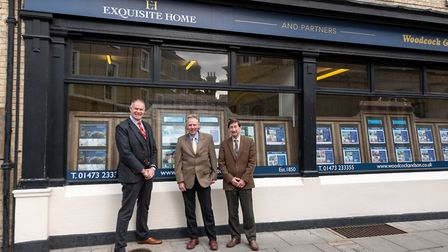 Ipswich's oldest estate agency, Woodcock & Son, has formed a strategic partnership with Exquisite Ho