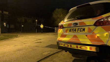 The boy has been released on bail pending investigation over a stabbing in Marlow Road, next to West