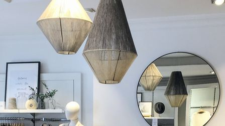 Woolen lanterns for The White Company PICTURE: Sarah Blanchard