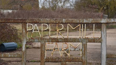 Paper Mill Farm is set to be sold Picture: Sonya Duncan