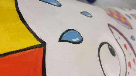 A glimpse of the Wellie phant design Picture: ST ELIZABETH HOSPICE