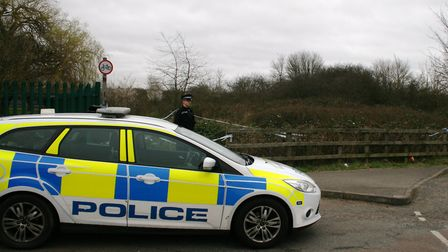 Police were back at Marlow Road on Tuesday morning. Picture: PAUL GEATER