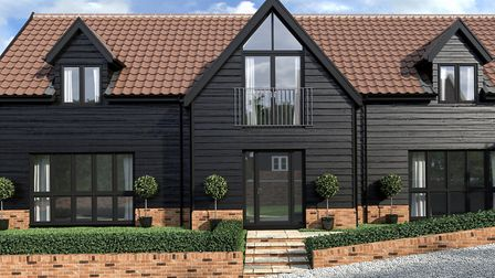 The Black Barn, plot 4, at Jacks Field, is on sale with Nicholas Estates with a guide price of �795,