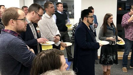 The launch event for last year's dev://east conference in Ipswich, which was sponsored by IJYI. Pict
