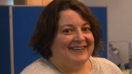 Julia Hancock, business manager for the Selig (Suffolk) Trust - the charity behind Ipswich Winter Ni