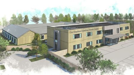 The Stephen Hawking Neuro Centre, is planned to be built in the Ravenswood part of Ipswich. Picture: