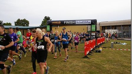 Hundreds took part in last year's Orwell Challenge Picture: RICHARD PORTER