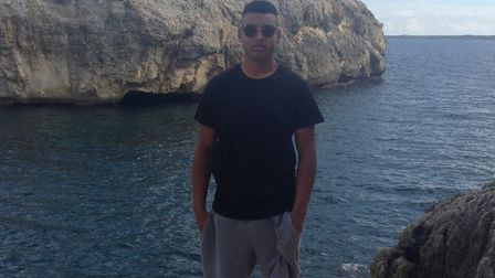 Tavis pictured while on holiday in Menorca Picture: Supplied by family